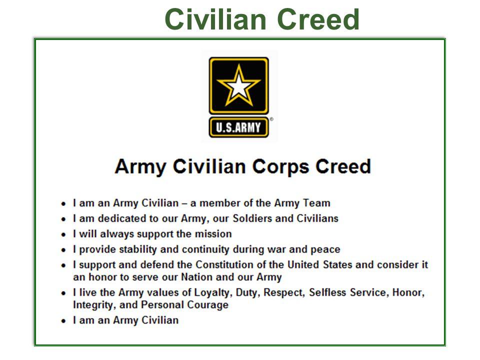 Civilian Creed