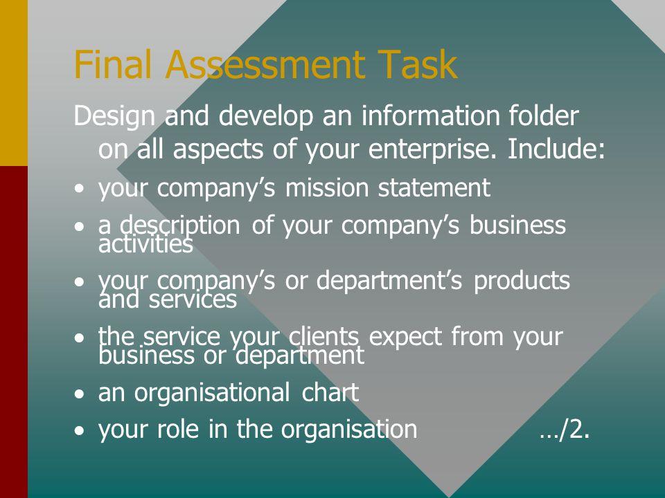 BSBCMN309A Final Assessment