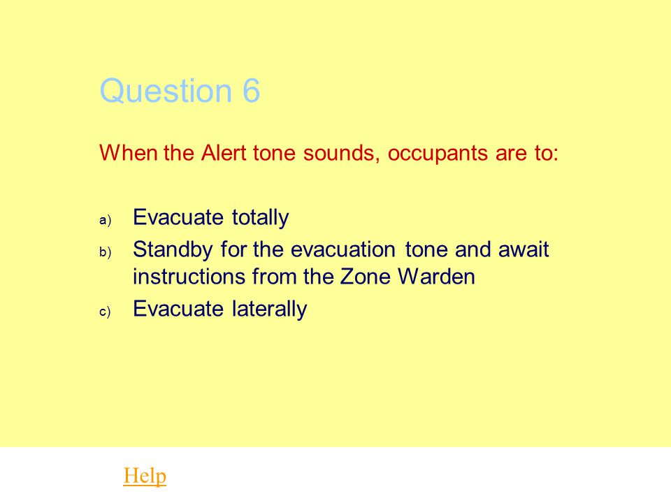 Question 5 Code Yellow contingencies are designed to be activated if there is a significant impact on patient care services. a) True b) False Help