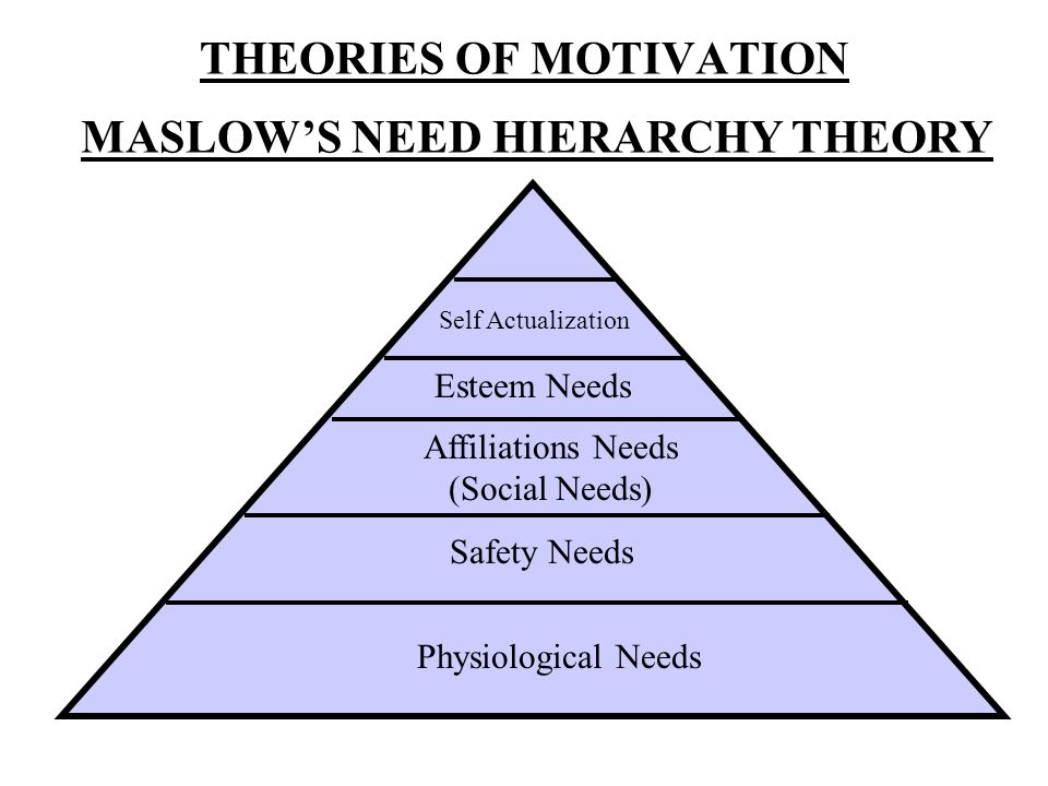 Physiological needs like hunger, thirst etc.is the primary need.