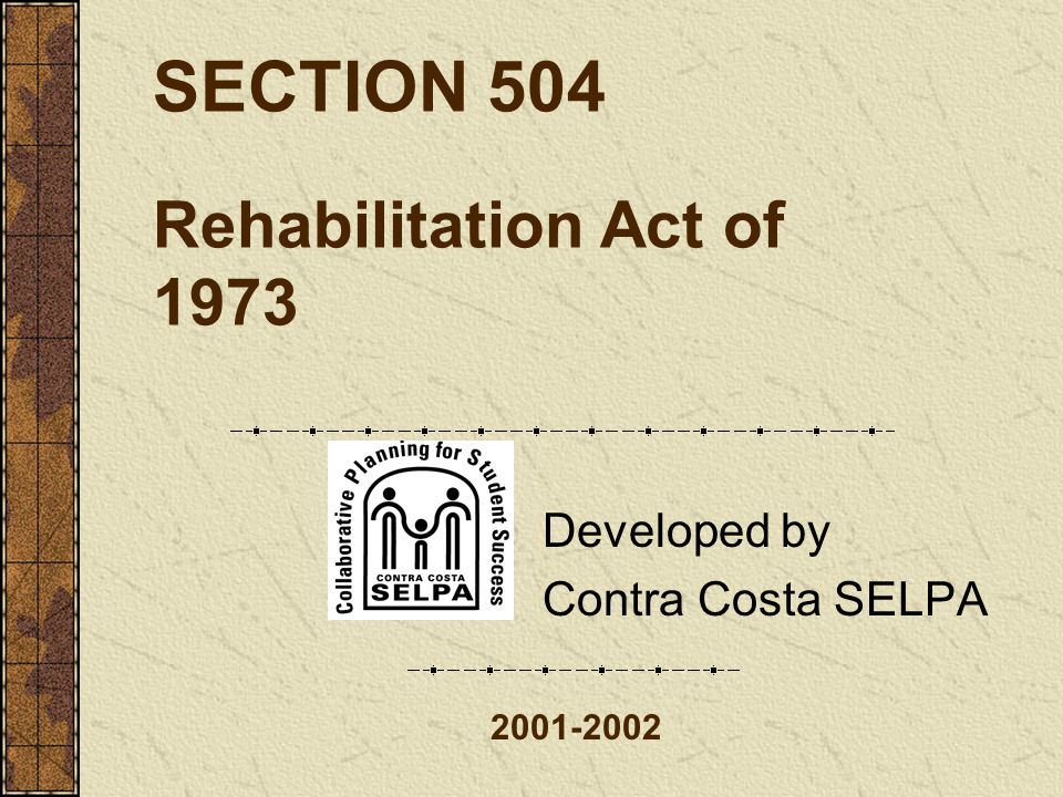 Section 504 8-9-01 52 Remedial Procedures Parents may file complaints with the Office of Civil Rights.
