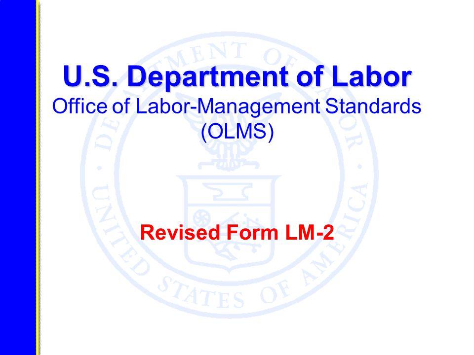 U.S.Department of Labor U.S.