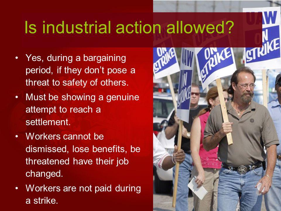 Benefits of industrial conflict.Increases awareness of mngt.