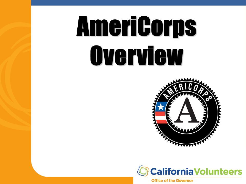 AmeriCorps Overview