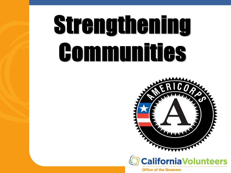 Strengthening Communities