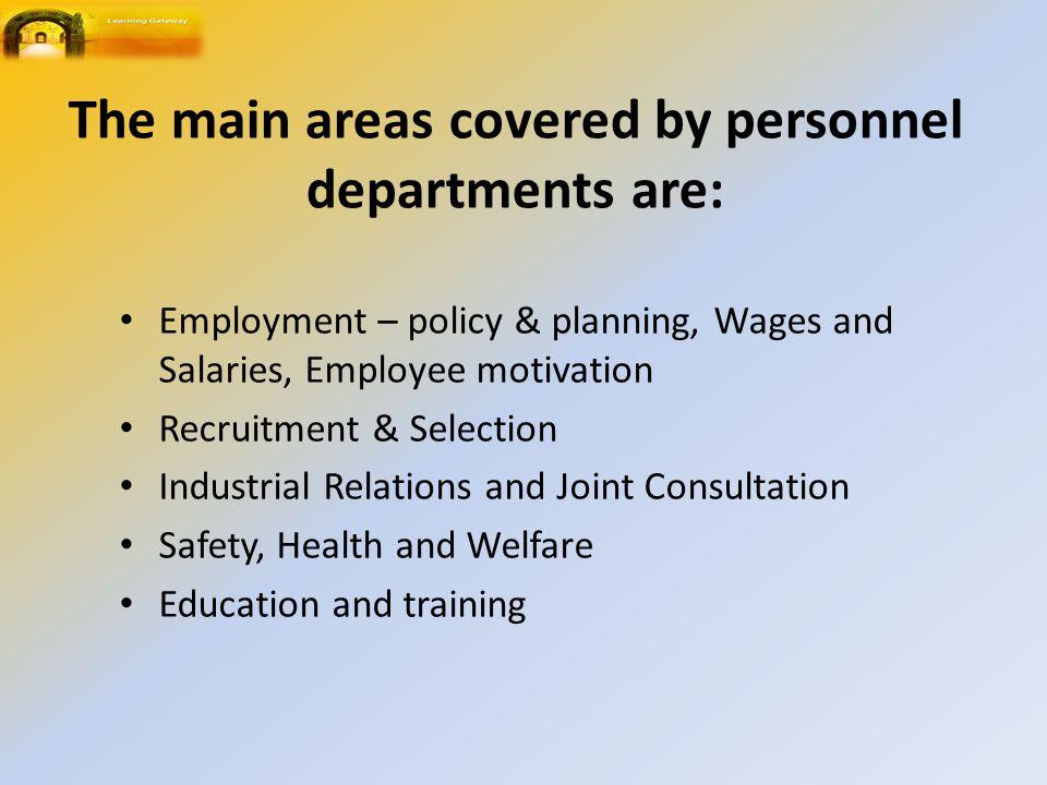 Employment Manpower planning.Interviews.