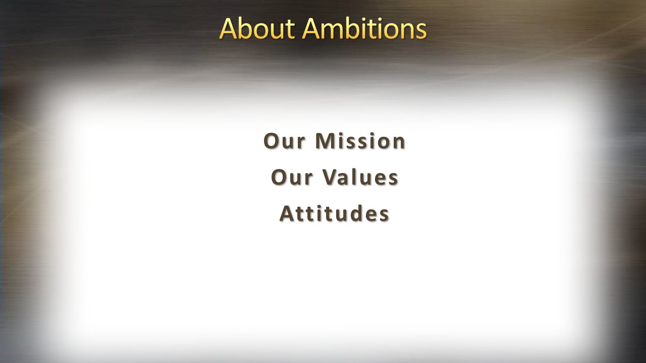 highest practical fulfillment of lifelong ambitions and dreams.