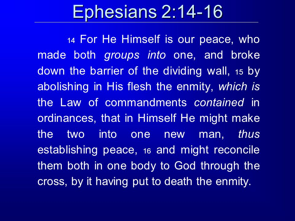 Ephesians 3:4-7 4 And by referring to this, when you read you can understand my insight into the mystery of Christ, 5 which in other generations was not made known to the sons of men, as it has now been revealed to His holy apostles and prophets in the Spirit; 6 to be specific, that the Gentiles are fellow heirs and fellow members of the body, and fellow partakers of the promise in Christ Jesus through the gospel, 7 of which I was made a minister, according to the gift of God s grace which was given to me according to the working of His power.