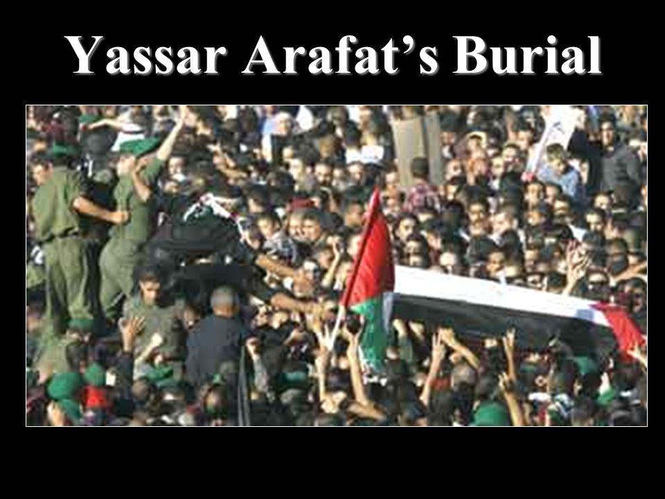Yassar Arafat's Burial