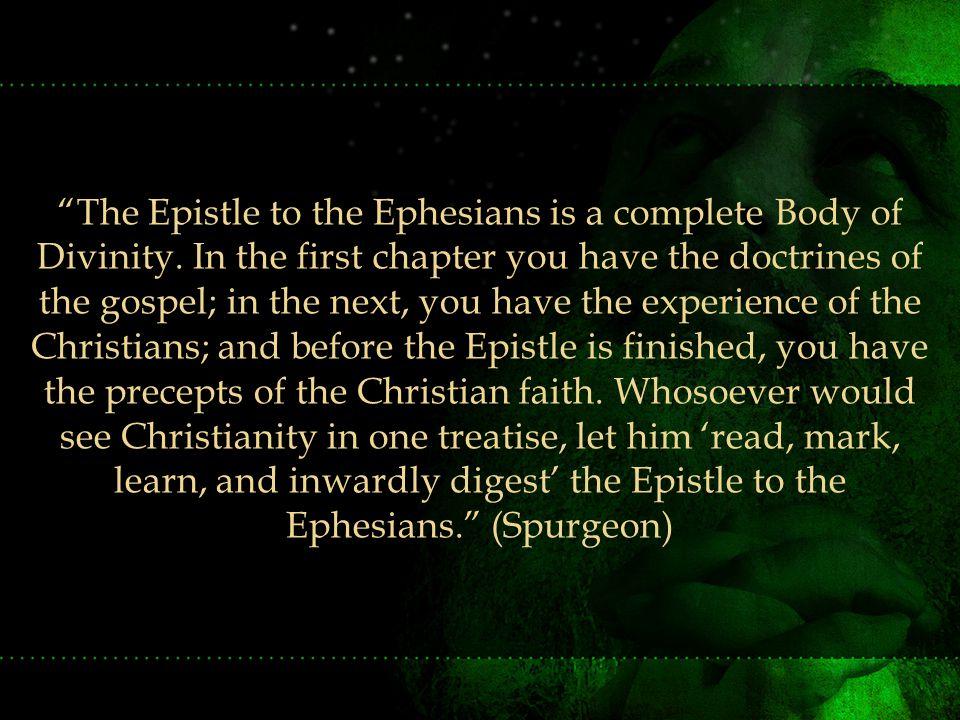 Written to the Church at Ephesus, etc.