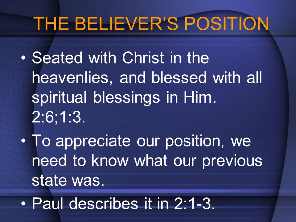 WALK AS SPIRIT-FILLED BELIEVERS (5:18 – 6:9) The fullness of the Holy Spirit.