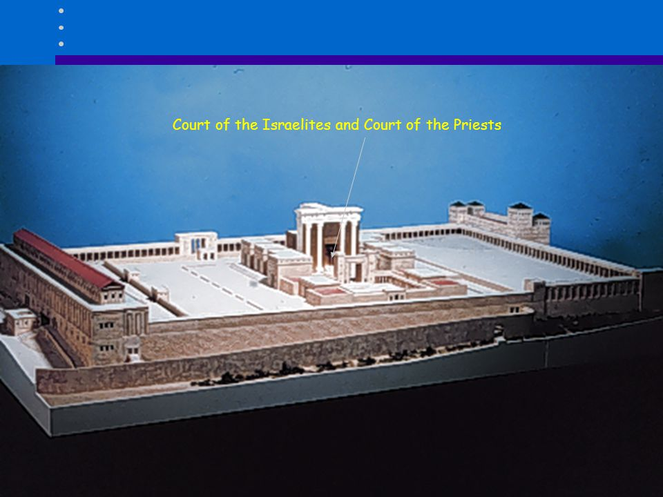 Court of the Israelites and Court of the Priests
