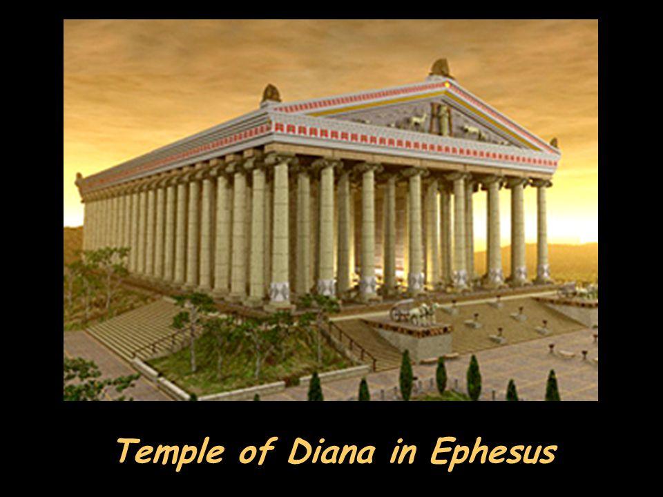 Temple of Diana in Ephesus