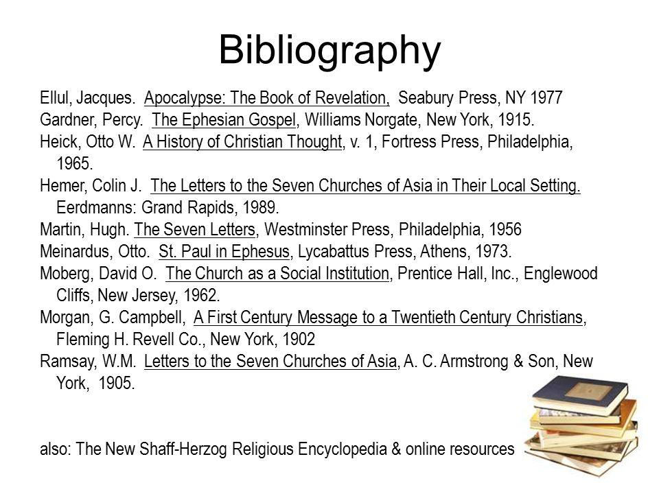Bibliography Ellul, Jacques.