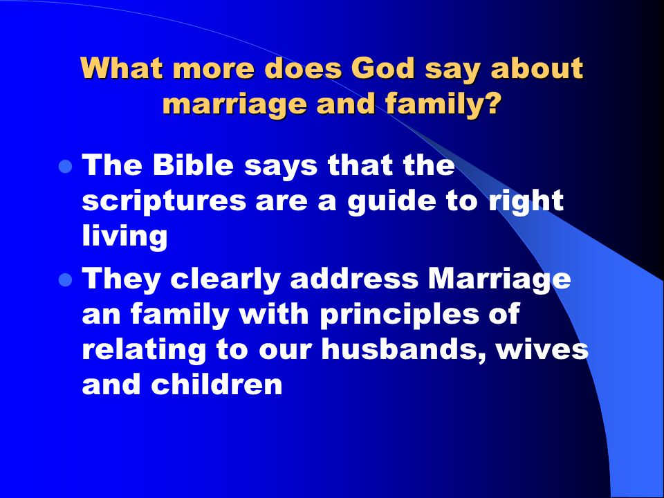 Why the Disparity? The answer lies in the fact That God's presence in the lives of both spouses enhances their love for one another and they are able