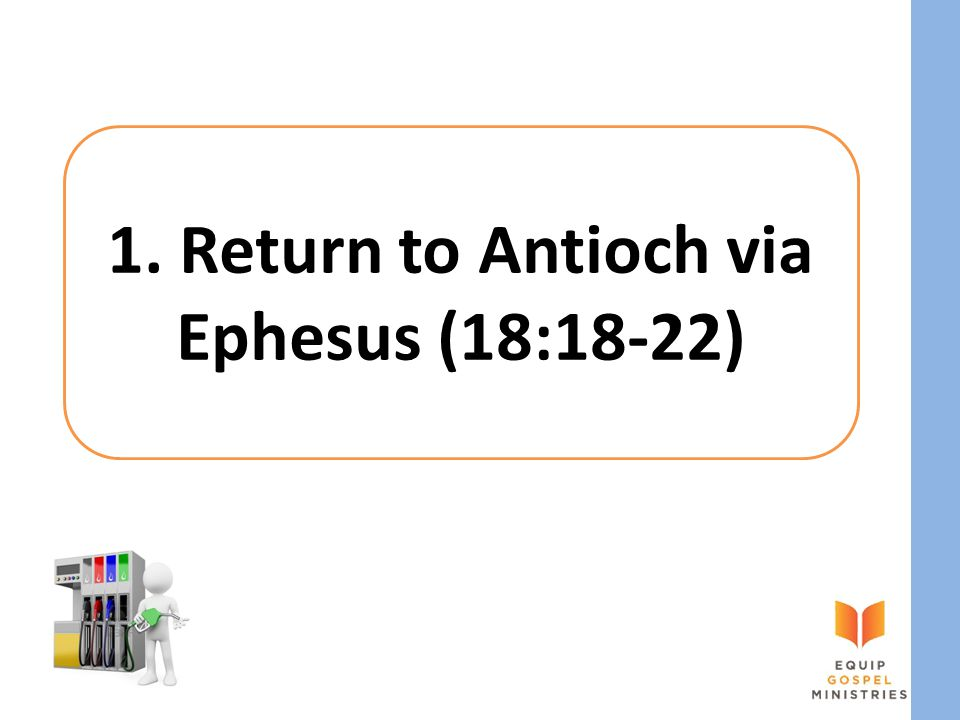1. Return to Antioch via Ephesus (18:18-22)