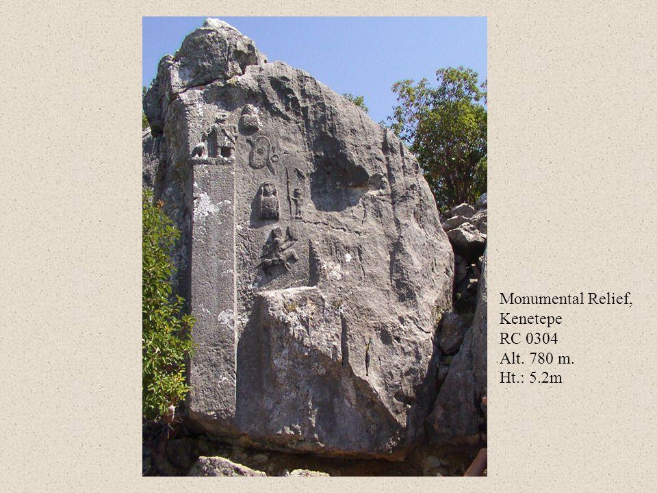 Monumental Relief, Kenetepe RC 0304 Alt. 780 m. Ht.: 5.2m