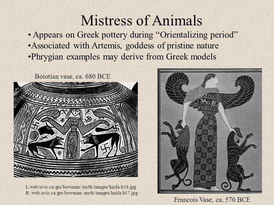 Boiotian vase, ca.680 BCE Francois Vase, ca.