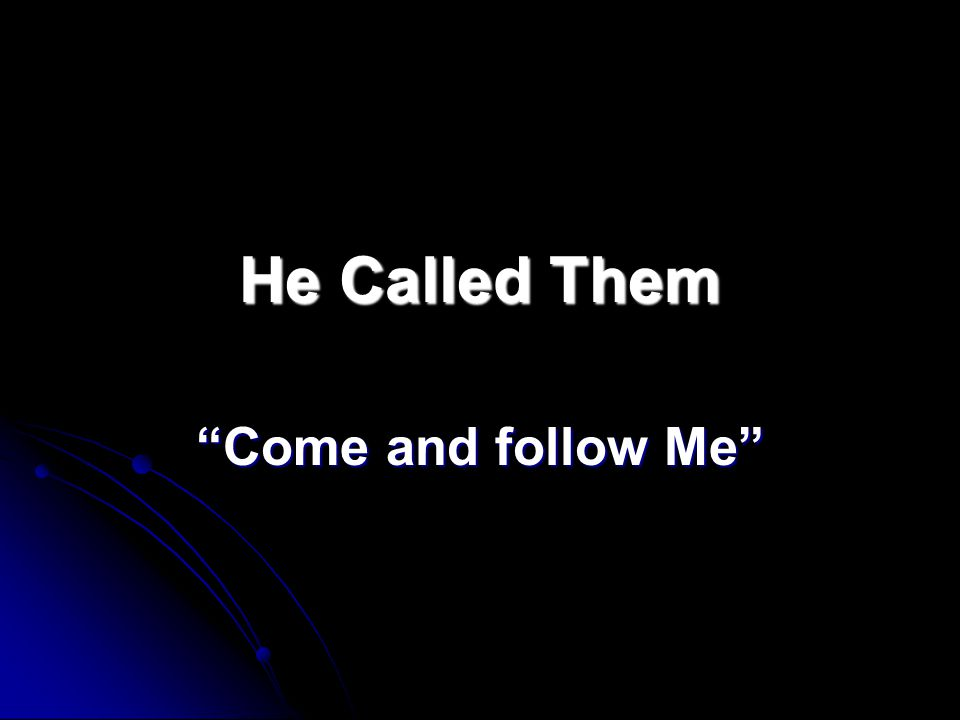 Disciple  Followers of Jesus  Another name for Apostle  Used to identify the original followers of Jesus