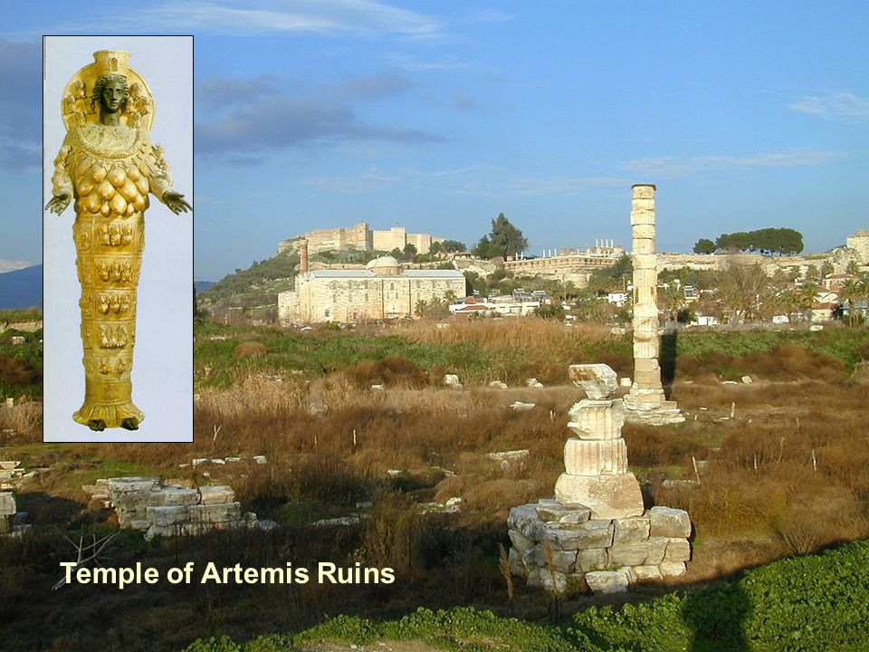 Temple of Artemis Ruins