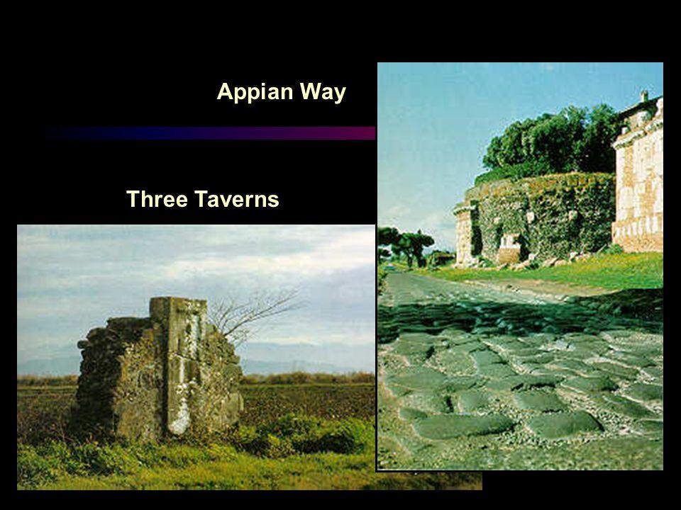 Appian Way Three Taverns