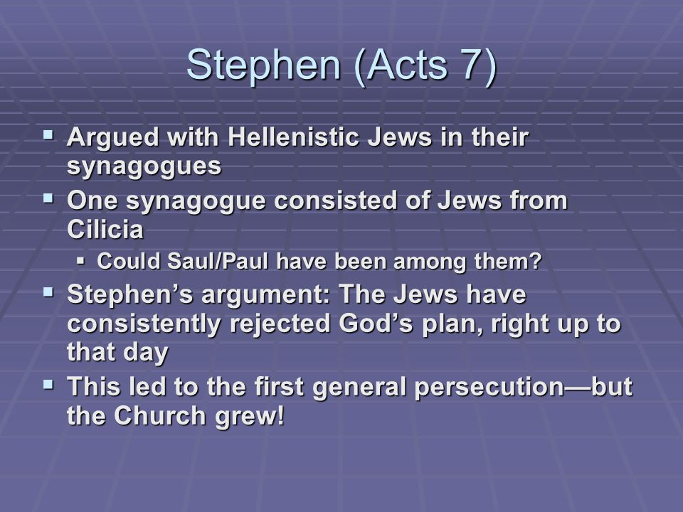 The First Non-Jewish Christians (Acts 8-11)  The Samaritans  A major step in the Church  Why the delay in the Holy Spirit?