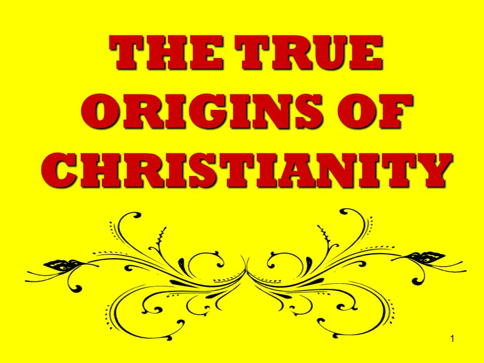 12 Many Christians believe their faith is based on the teachings of Jesus; some even believe Jesus was the first Christian!