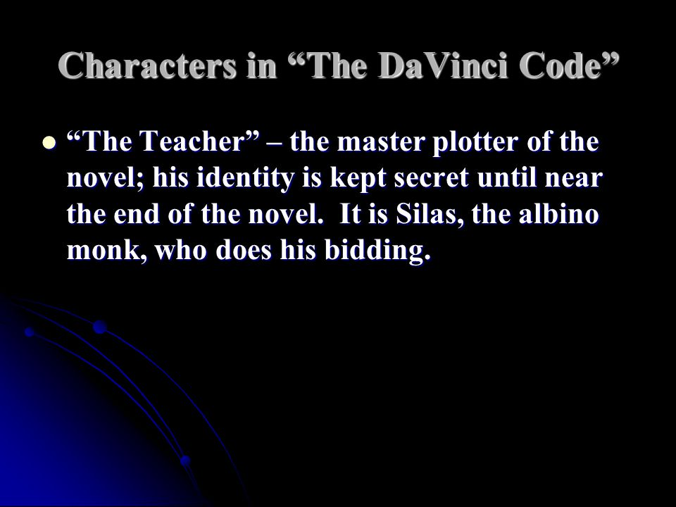 Characters in The DaVinci Code Robert Langdon, professor of symbology at Harvard University – the hero. Robert Langdon, professor of symbology at Harvard University – the hero. Sophie Neuveu, cryptographer for the French Judicial Police; granddaughter of the victim.