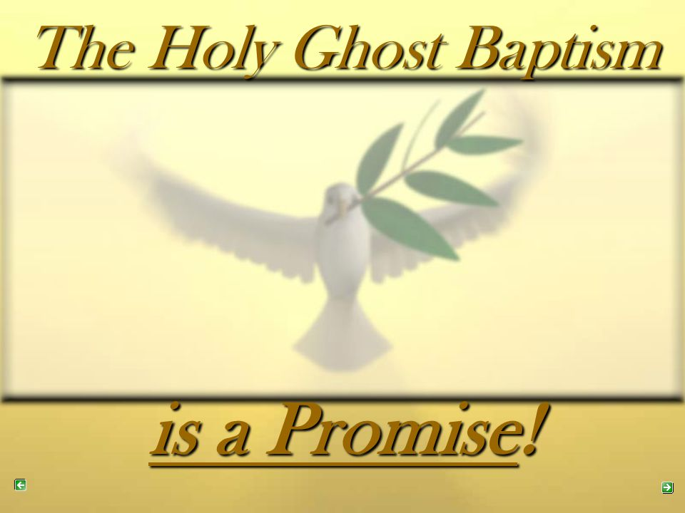 The Old Testament contains promises of the outpouring of the Holy Spirit.