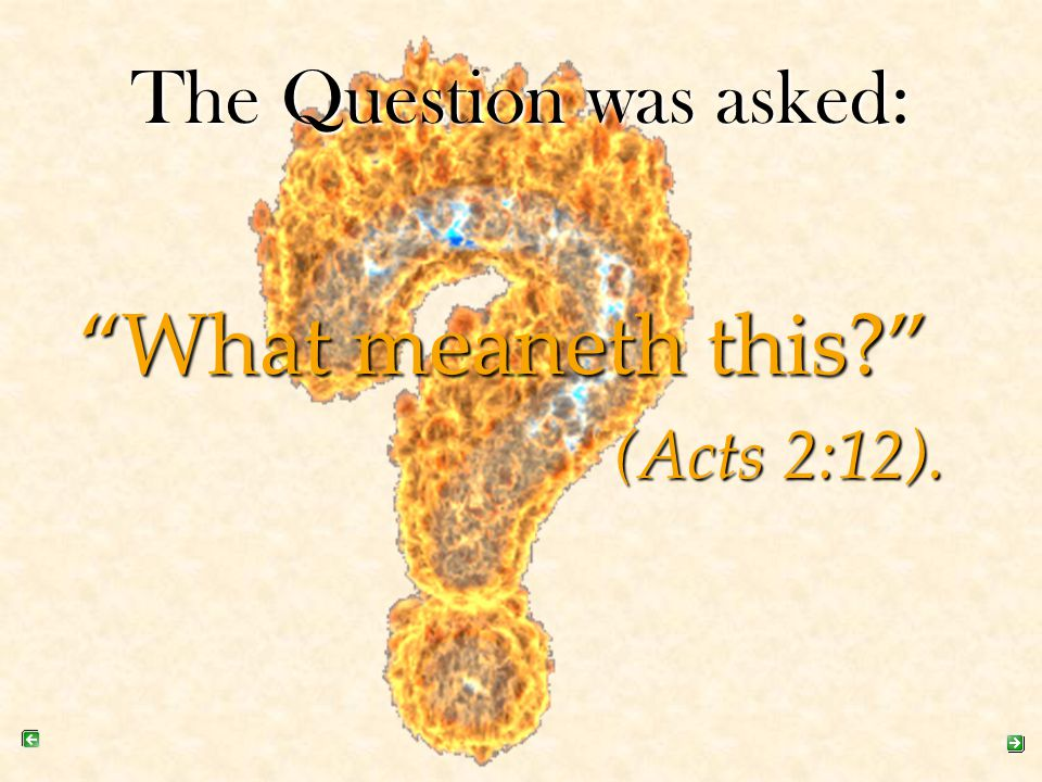 10.What is the initial (first) evidence of receiving the Holy Spirit.