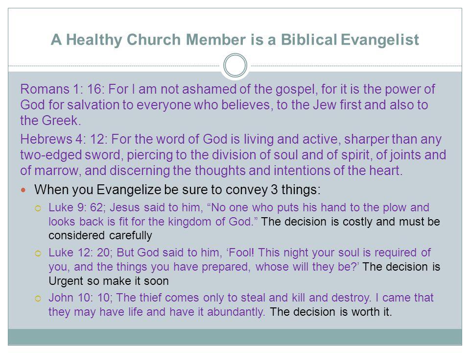 Gospel Outline God promises the world we all want.