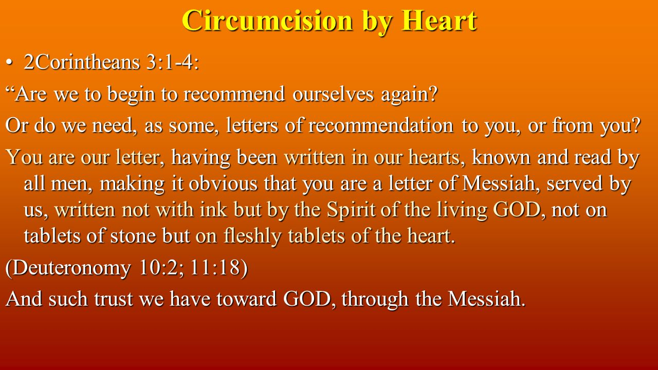 2Corintheans 3:1-4:2Corintheans 3:1-4: Are we to begin to recommend ourselves again.