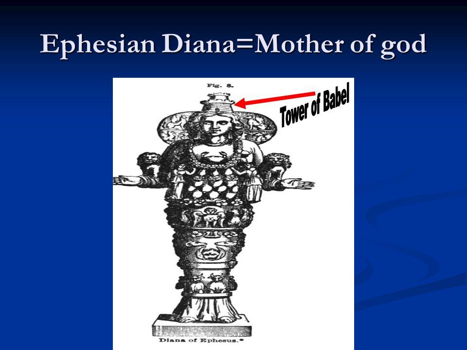 Ephesian Diana=Mother of god