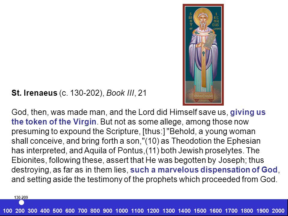 St. Irenaeus (c.