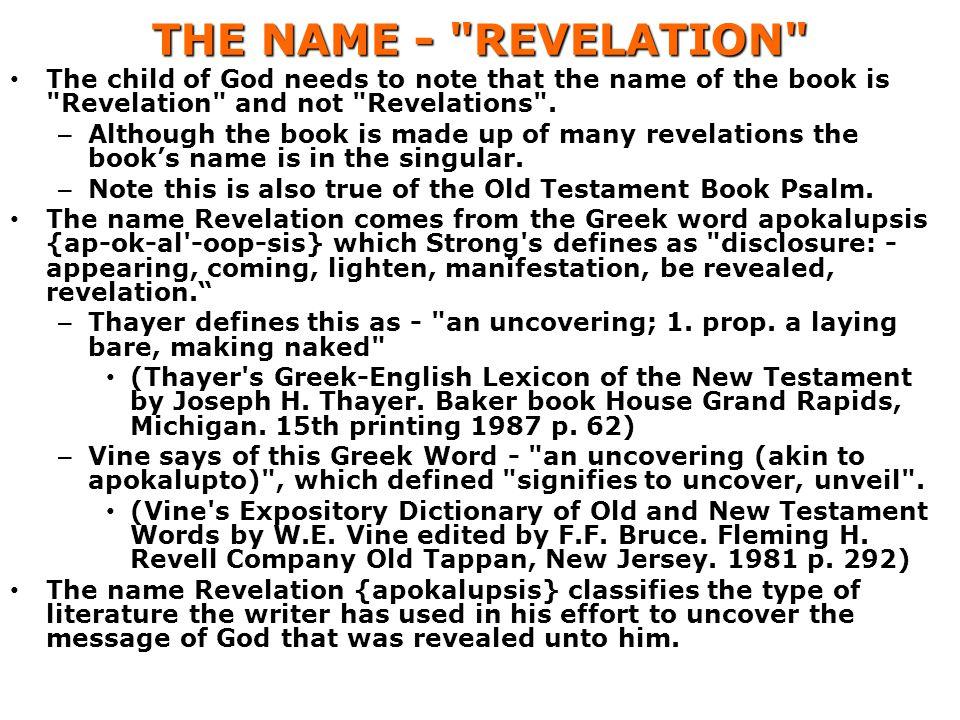 THE NAME -