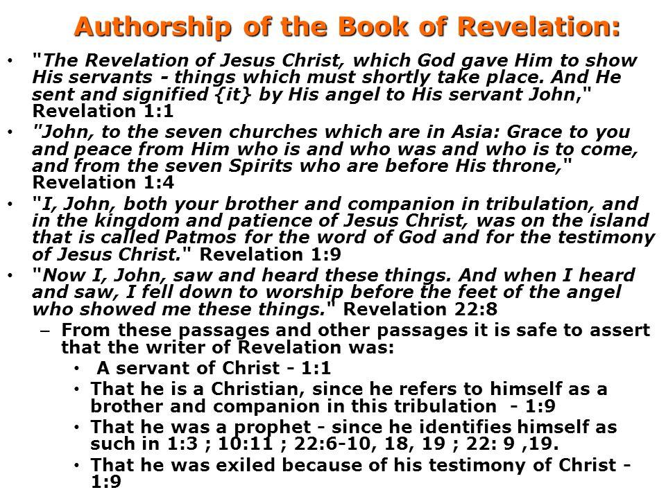 Authorship of the Book of Revelation: