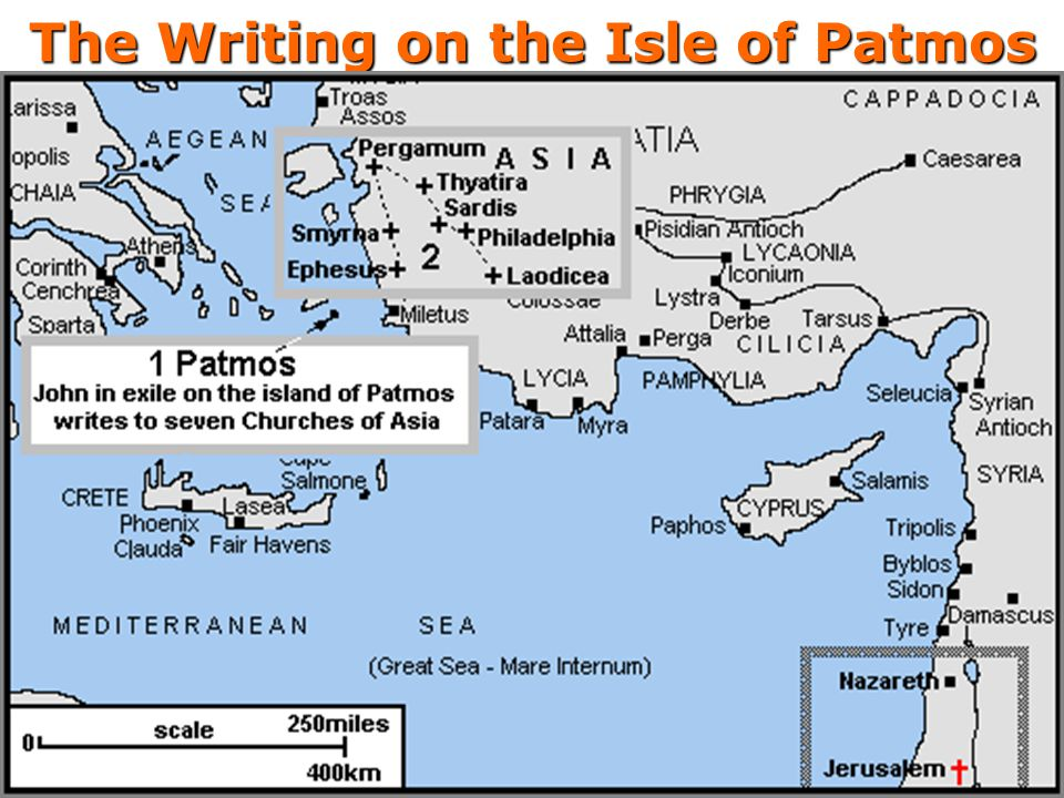The Writing on the Isle of Patmos