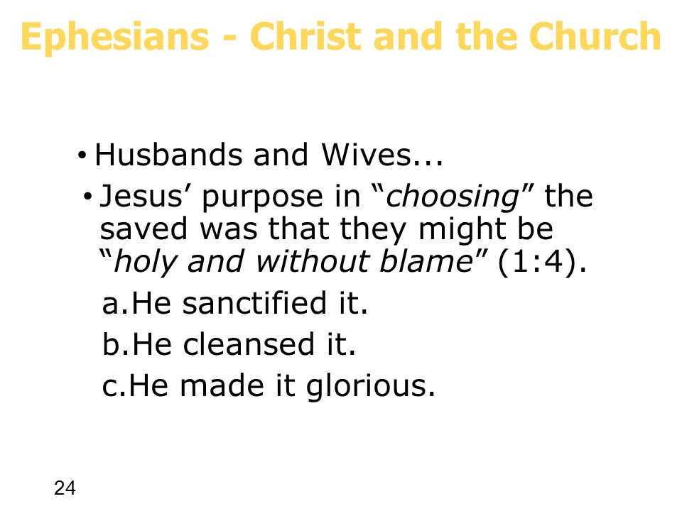 24 Husbands and Wives...