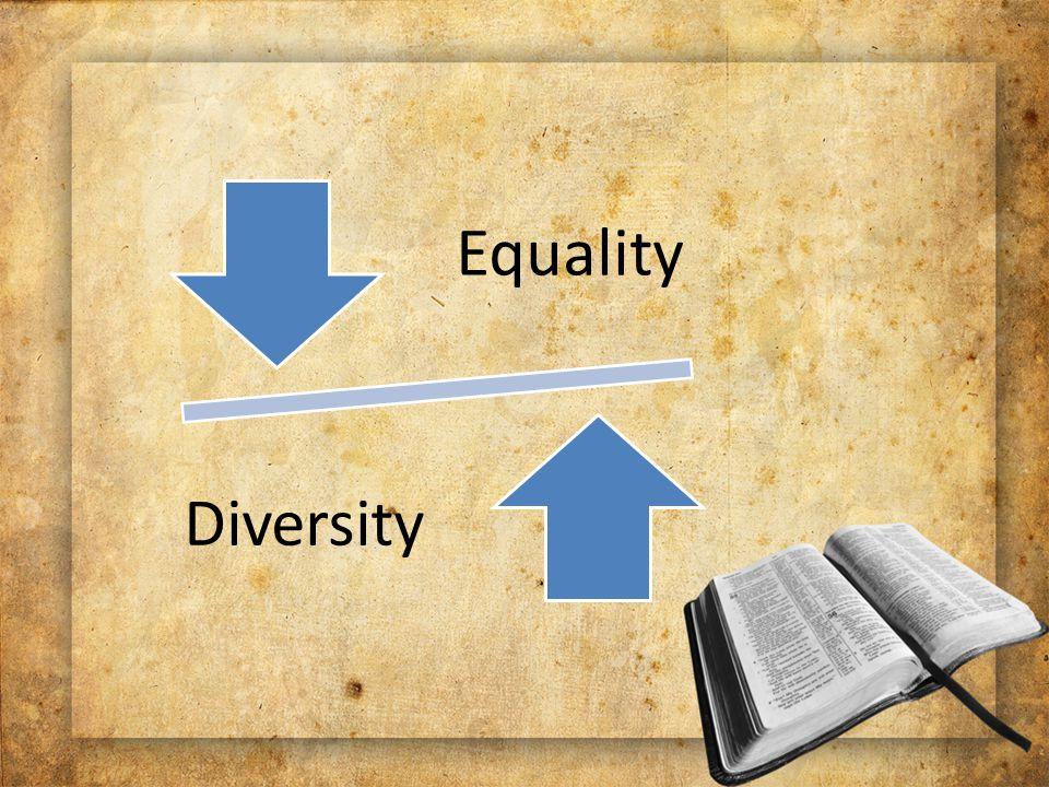 Equality Diversity