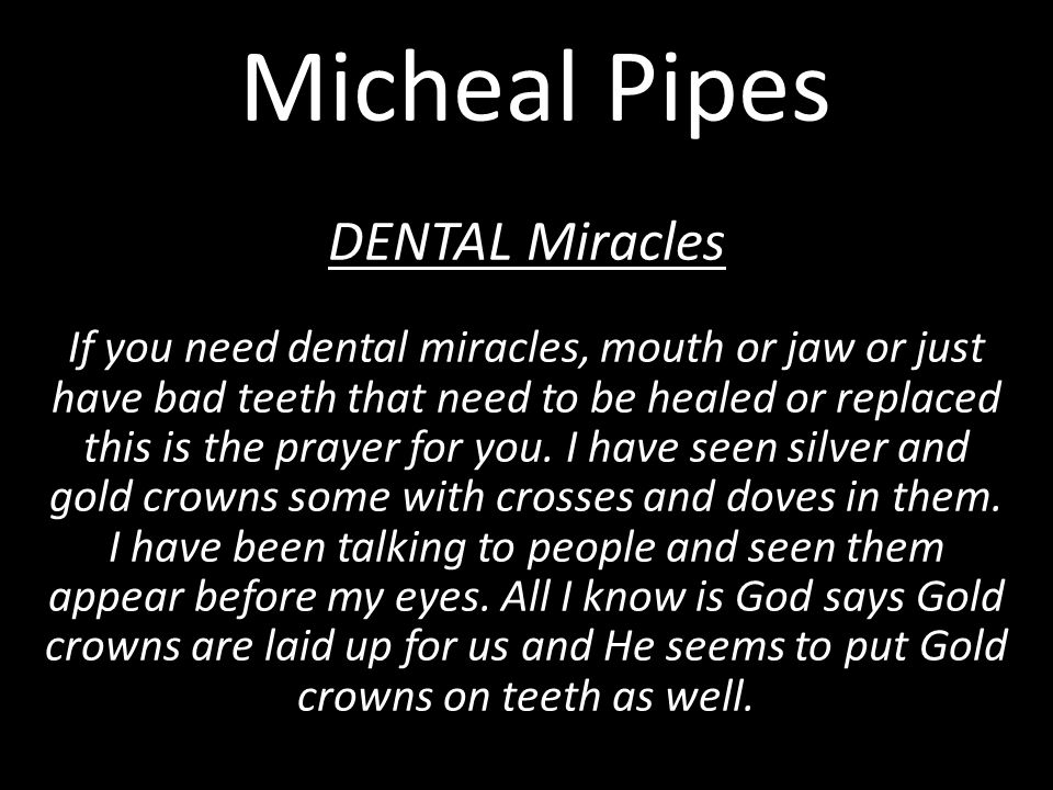 Micheal Pipes Only $14.