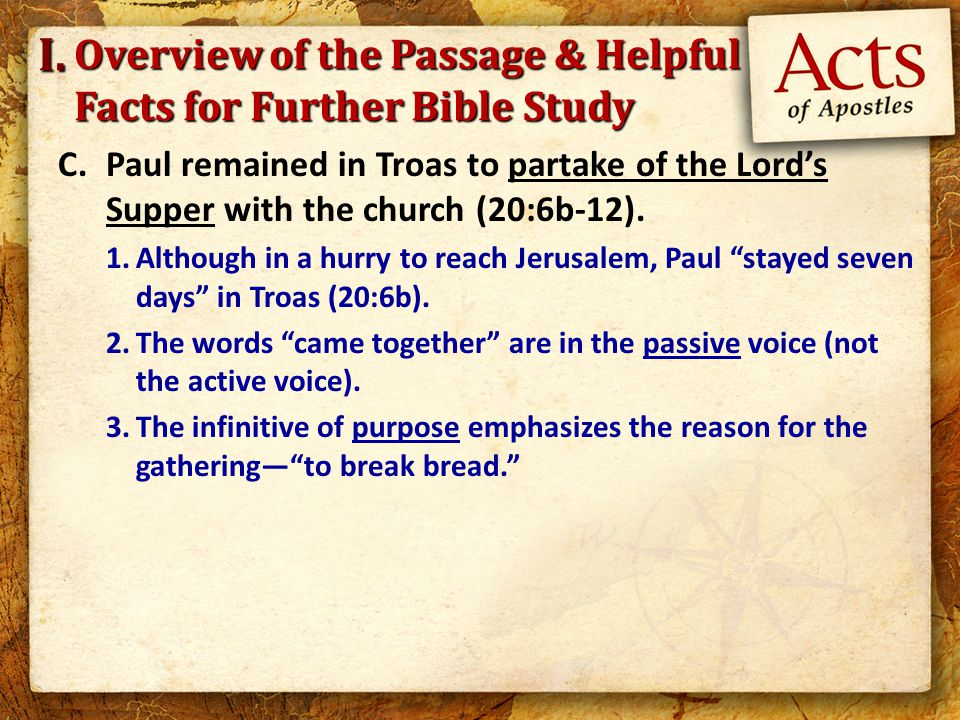 A.The Lord authorized the first day of the week as His day of worship.