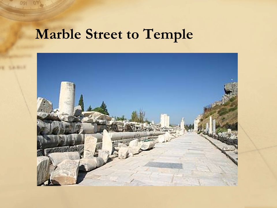 Marble Street to Temple