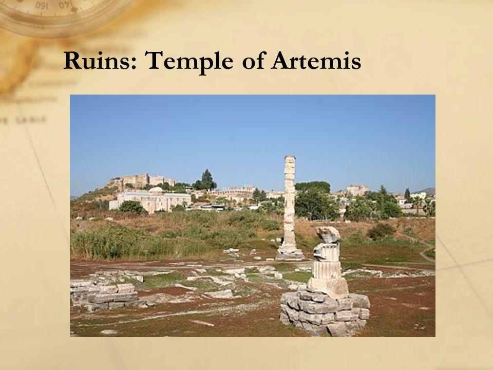 Ruins: Temple of Artemis
