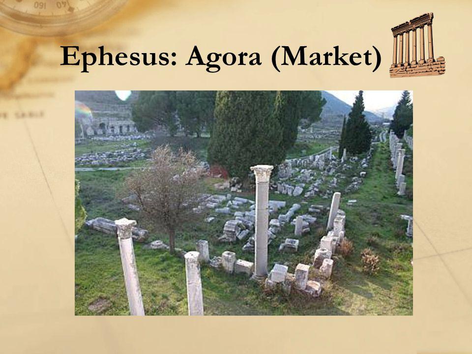 Ephesus: Agora (Market)