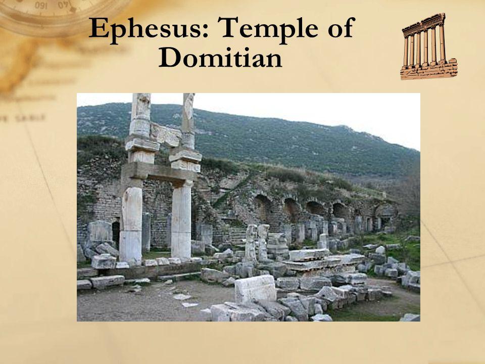 Ephesus: Temple of Domitian