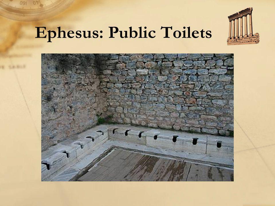 Ephesus: Public Toilets
