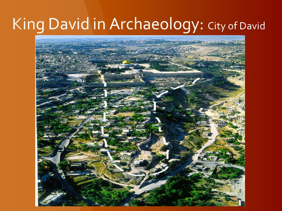 King David in Archaeology: City of David