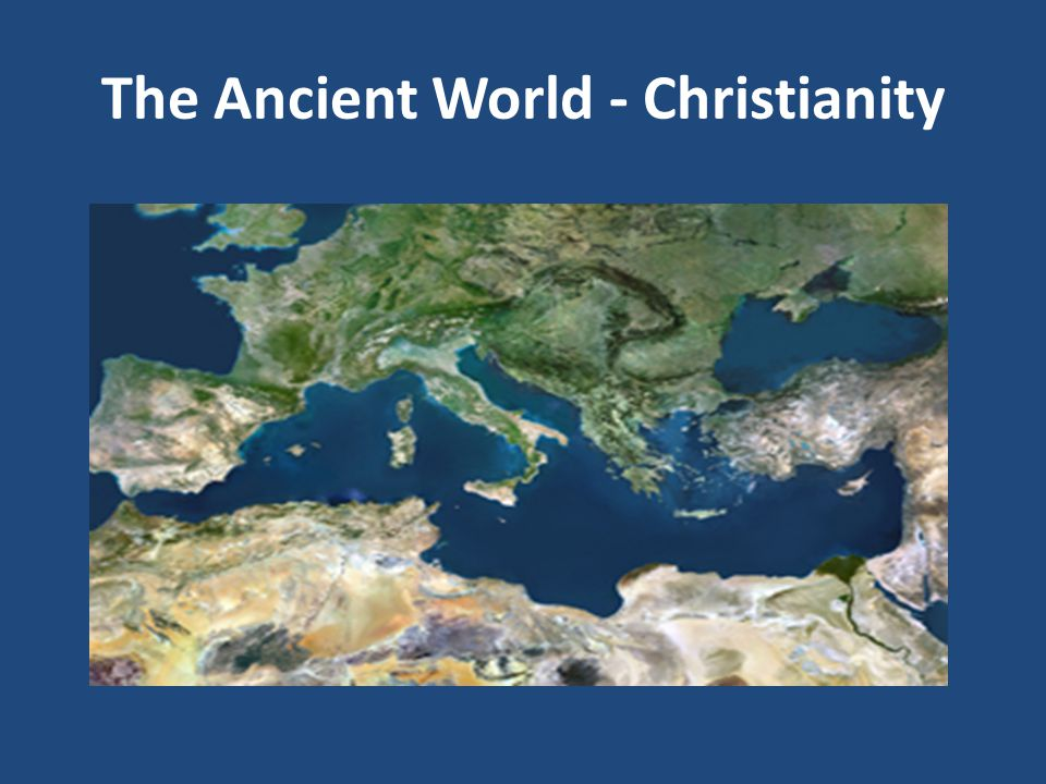 When we look at a map of the ancient Medi- terranean, of what do we in the West think most.