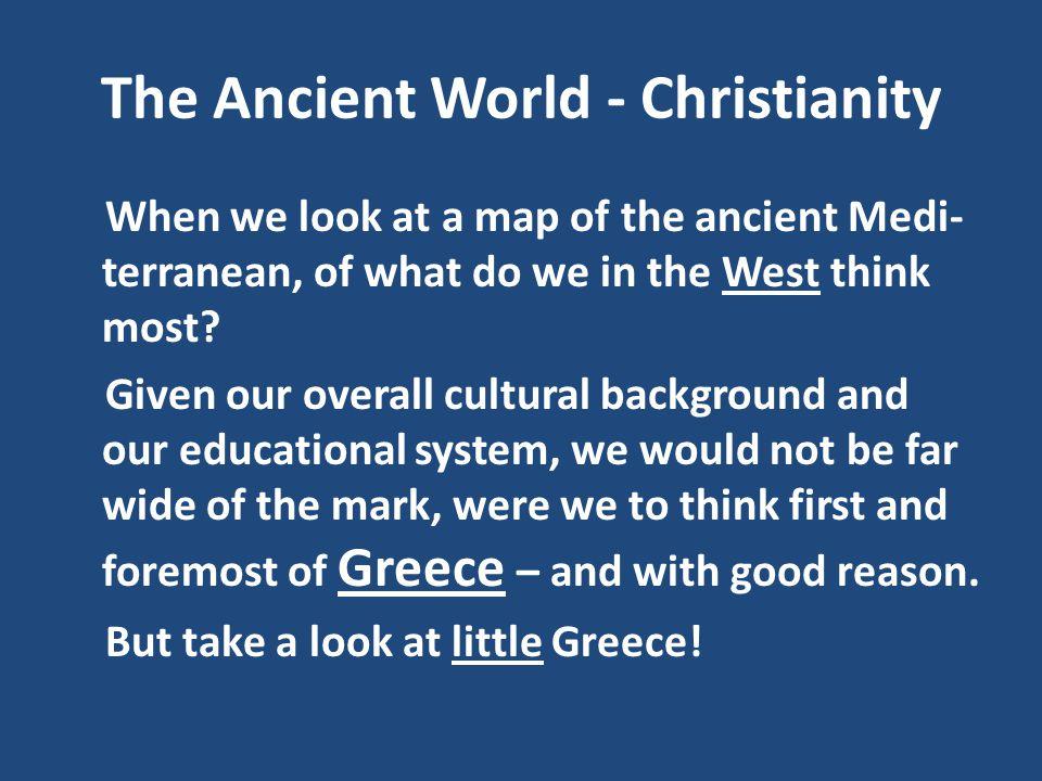 Christianity - Paul Great E v a n g e l i s t