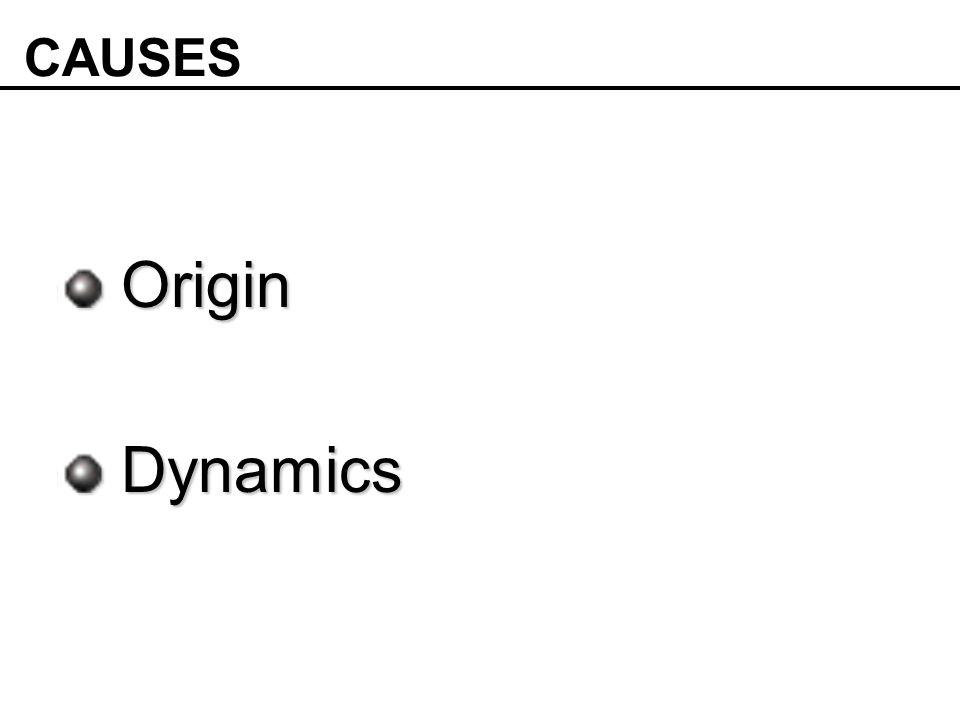 Origin Origin Dynamics Dynamics CAUSES